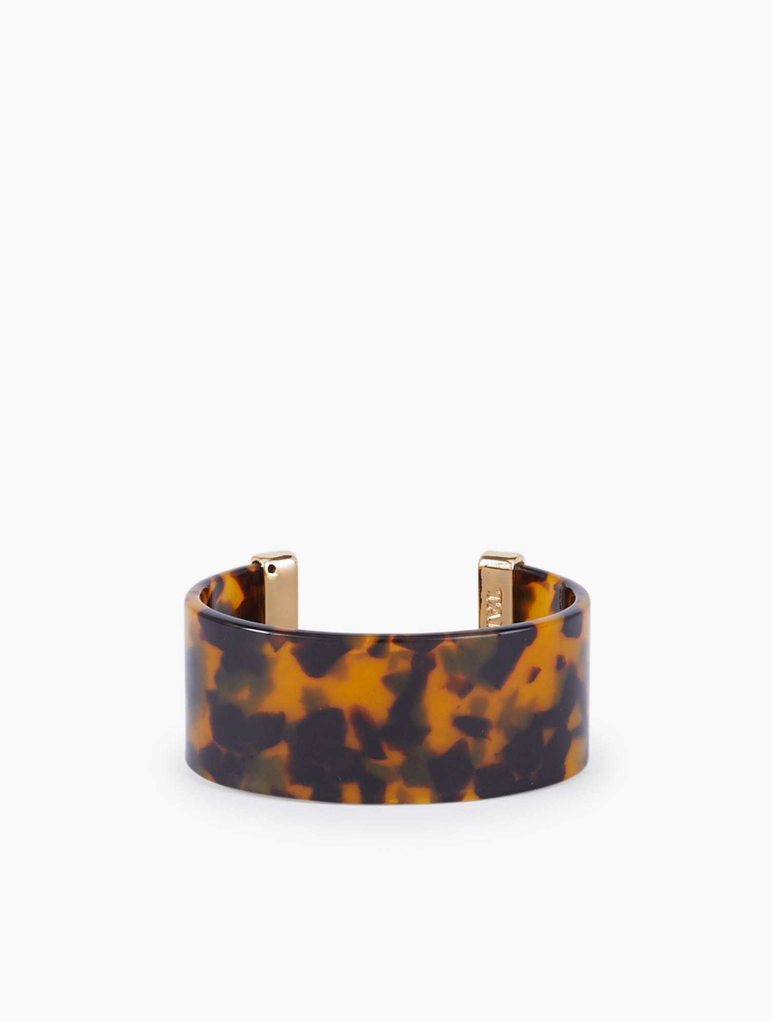 Lend a dose of easy elegance to your look with our gold-trimmed Tortoise Cuff. Features Clasp: CuffImported Fit: 2 1/2 x 2 inches Material: 75% Acetate, 10% Zinc, 10% Acrylic, 5% CZ Tortoise Cuff - 001 Talbots